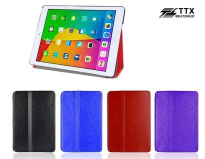 Купить Кожаный чехол-книжка TTX с функцией подставки для Apple iPad Air 2 Черный