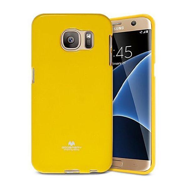 Купить TPU чехол Mercury Jelly Color series для Samsung G935F Galaxy S7 Edge Желтый
