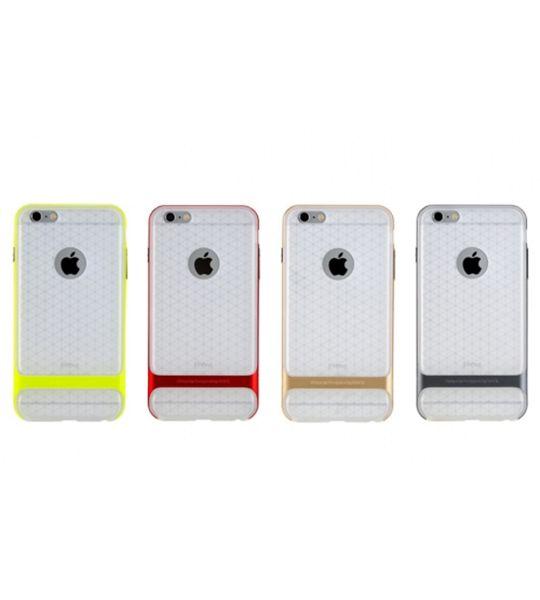 Купить TPU+PC чехол Rock Royce (Transparent) Series для Apple iPhone 6/6s (4.7 ) Зеленый / Green