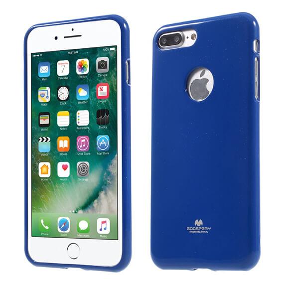 Купить TPU чехол Mercury Jelly Color series для Apple iPhone 7 plus (5.5 ) Синий