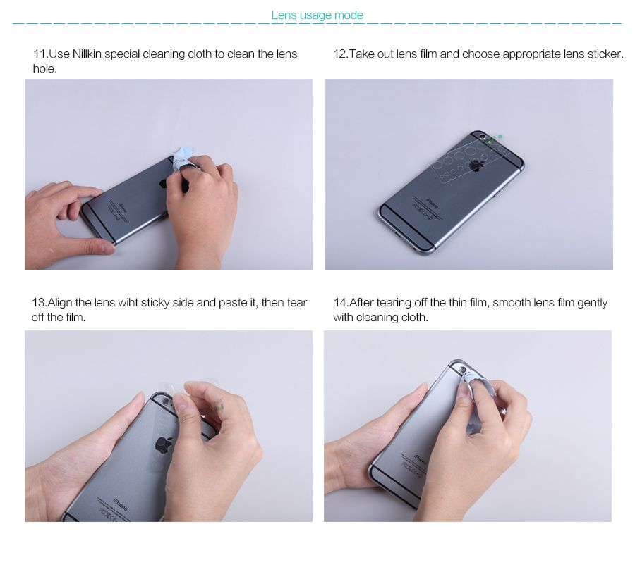 Купить Защитная пленка Nillkin Crystal для Meizu M2 Note Анти-отпечатки