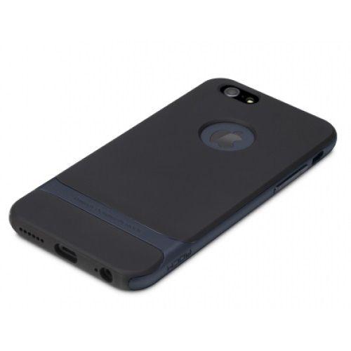 Купить TPU+PC чехол Rock Royce Series для Apple iPhone 6/6s (4.7 ) Черный / Синий