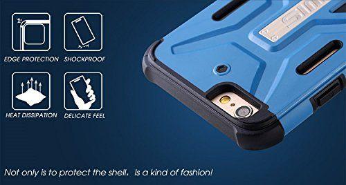 Купить TPU+PC бампер BENWIS Cool Armor Hybrid для Apple iPhone 6/6s (4.7 ) Синий / Черный