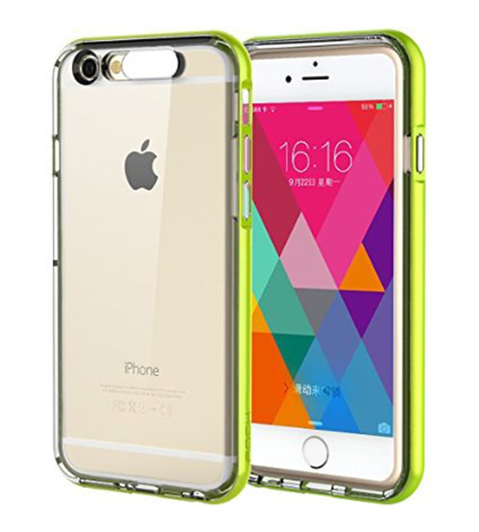 Купить Светящийся TPU чехол ROCK Tube Series для Apple iPhone 6/6s (4.7 ) Зеленый / Green