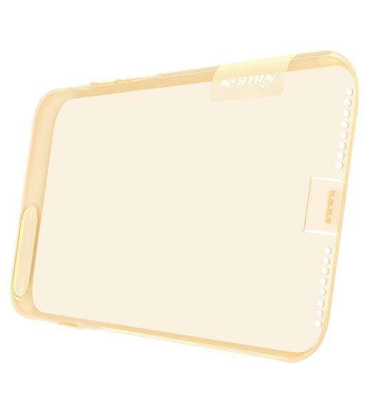 Купить TPU чехол Nillkin Nature Series для Apple iPhone 7 plus (5.5 ) Золотой (прозрачный)