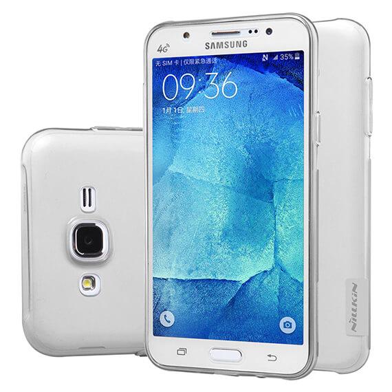 Купить TPU чехол Nillkin Nature Series для Samsung J500H Galaxy J5 Серый (прозрачный)
