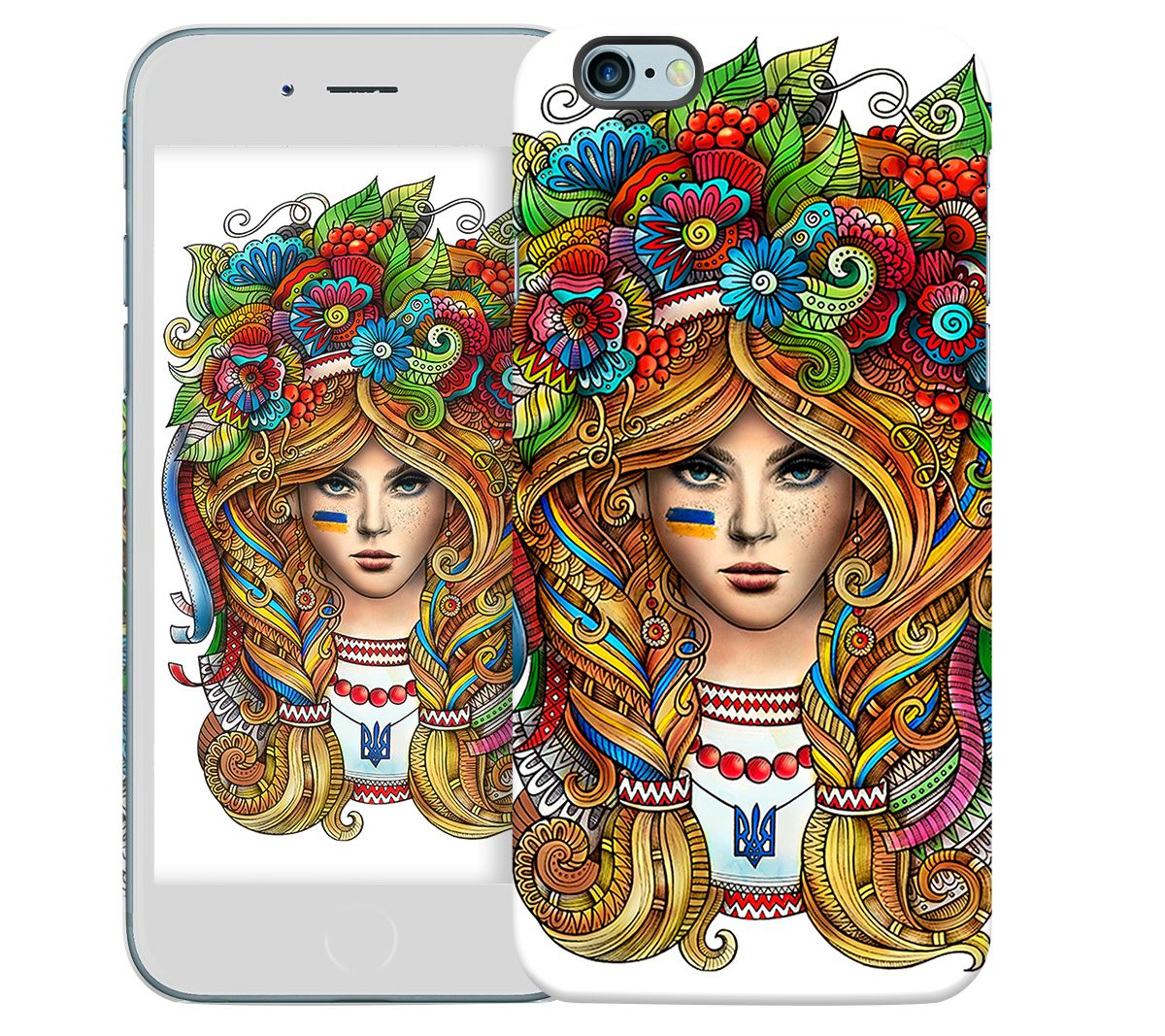 Купить Чехол «Украинка» для Apple iPhone 6 4.7 для iPhone 6 (4.7)