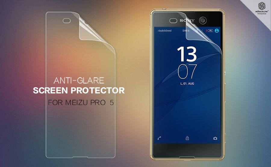 Купить Защитная пленка Nillkin для Sony Xperia M5 / Xperia M5 Dual Матовая
