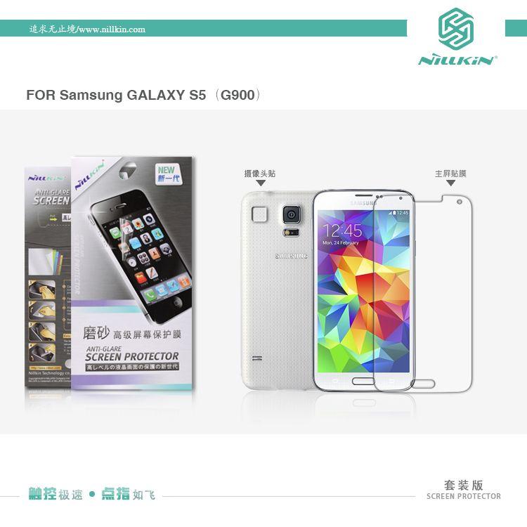 Купить Защитная пленка Nillkin для Samsung G900 Galaxy S5 Матовая