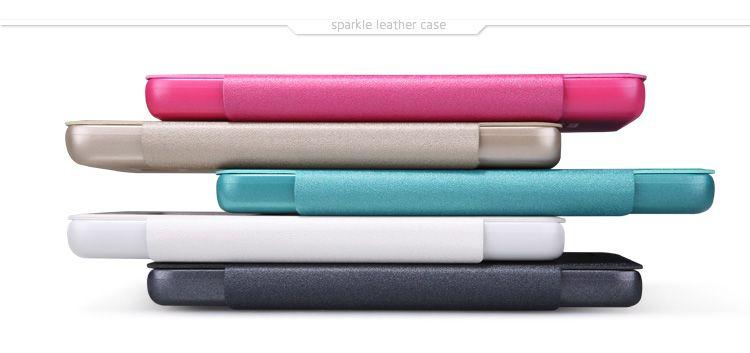 Купить Кожаный чехол (книжка) Nillkin Sparkle Series для Xiaomi Redmi 2 Черный