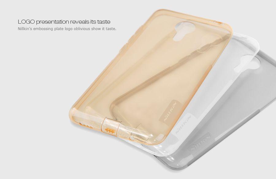 Купить TPU чехол Nillkin Nature Series для Meizu MX5 Бесцветный (прозрачный)