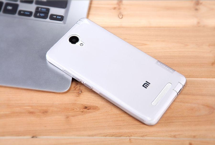 Купить TPU чехол Nillkin Nature Series для Xiaomi Redmi Note 2 / Redmi Note 2 Prime Бесцветный (прозрачный)