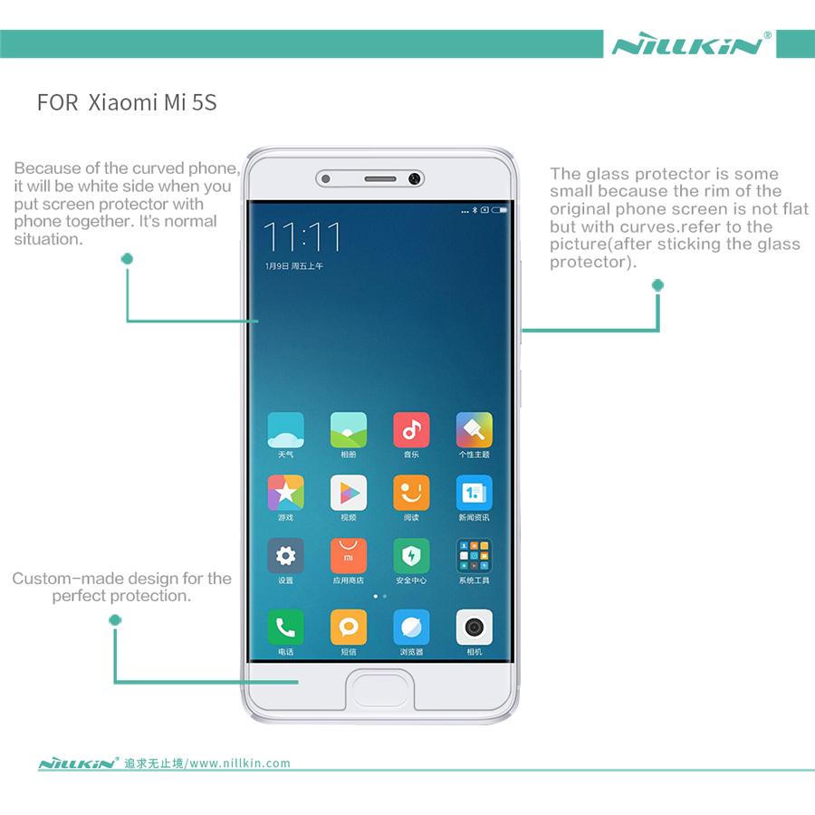 Купить Защитная пленка Nillkin Crystal для Xiaomi Mi 5s Прозрачная