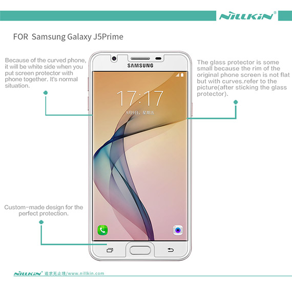 Купить Защитная пленка Nillkin для Samsung G570F Galaxy J5 Prime (2016) Матовая