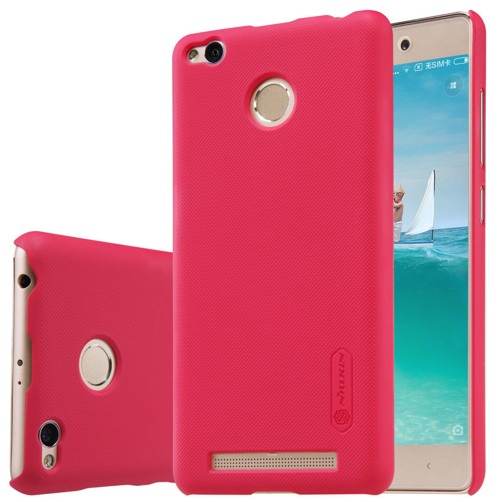 Купить Чехол Nillkin Matte для Xiaomi Redmi 3 Pro / Redmi 3s (+ пленка) Красный