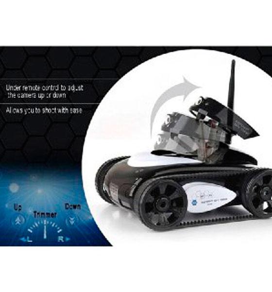 Танк шпион с Wi-Fi видеокамерой I-spy tank , epik  - купить со скидкой