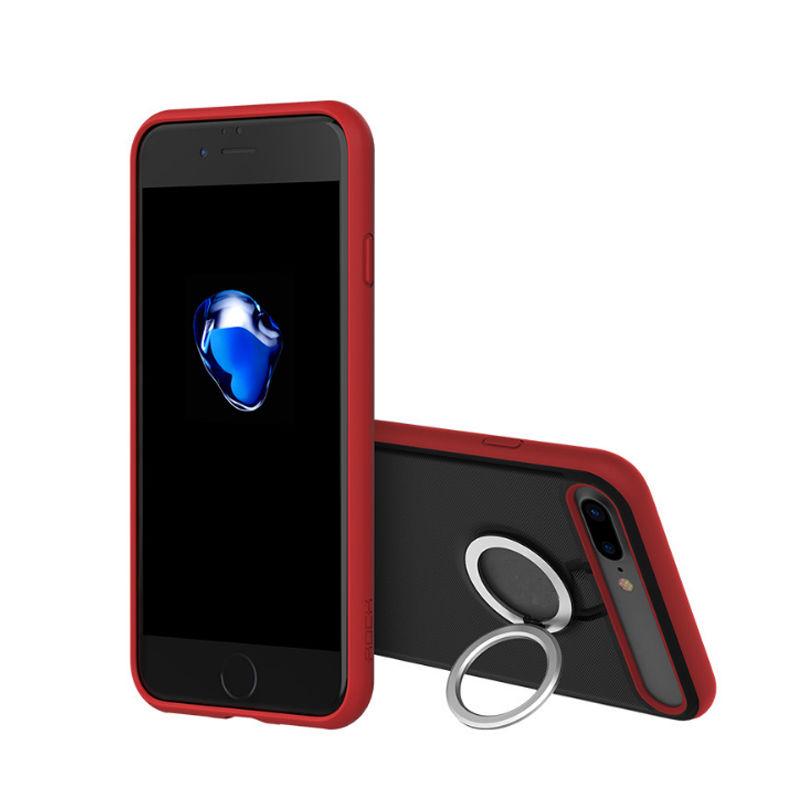 Купить TPU+PC чехол Rock Ring Holder Case M2 Series для Apple iPhone 7 plus (5.5 ) Красный / Red