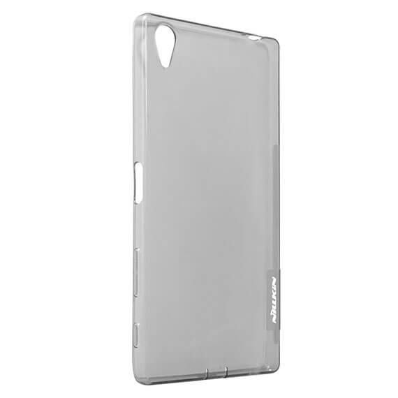 Купить TPU чехол Nillkin Nature Series для Sony Xperia Z5 Premium Серый (прозрачный)