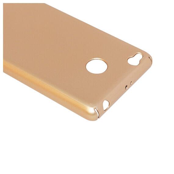 Купить Пластиковая накладка soft-touch с защитой торцов Joyroom для Xiaomi Redmi 3 Pro / Redmi 3s Золотой, epik