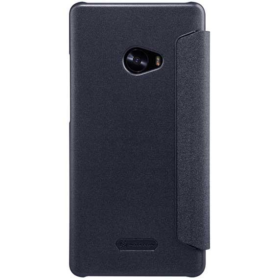 Купить Кожаный чехол (книжка) Nillkin Sparkle Series для Xiaomi Mi Note 2 Черный