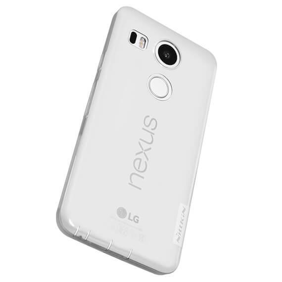 Купить TPU чехол Nillkin Nature Series для LG Google Nexus 5x Бесцветный / Прозрачный