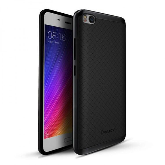 Купить Чехол iPaky TPU+PC для Xiaomi Mi 5s Черный / Серый