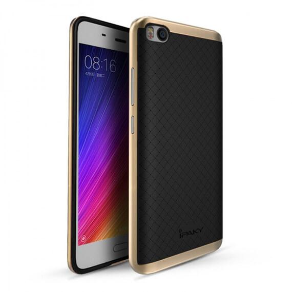 Купить Чехол iPaky TPU+PC для Xiaomi Mi 5s Черный / Золотой