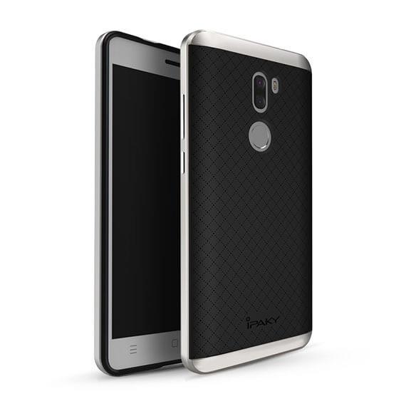 Купить Чехол iPaky TPU+PC для Xiaomi Mi 5s Plus Черный / Серебряный