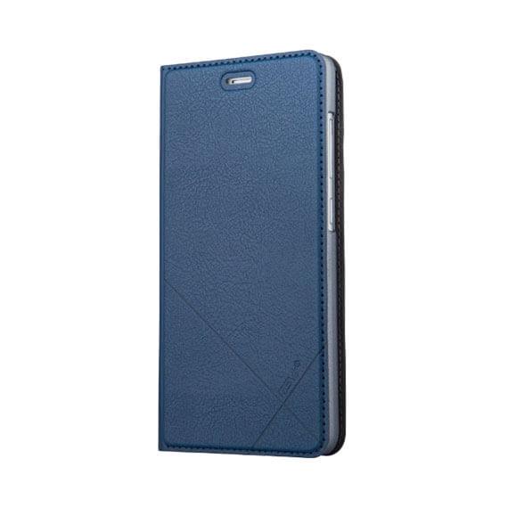 Купить Кожаный чехол-книжка Msvii для Xiaomi Redmi 3 Pro / Redmi 3s с функцией подставки Синий