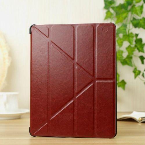 Купить Кожаный чехол-книжка TTX Slim-Y series для Apple iPad Air 2 Коричневый