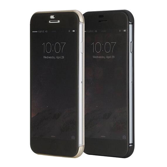 Купить Чехол (книжка) Rock DR.V Series для Apple iPhone 6/6s plus (5.5 ) Черный / Black