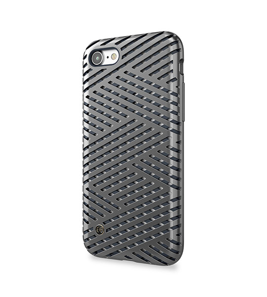 Купить TPU+PC чехол STIL Kaiser || Series для Apple iPhone 7 (4.7 ) Серый / Micro Titan