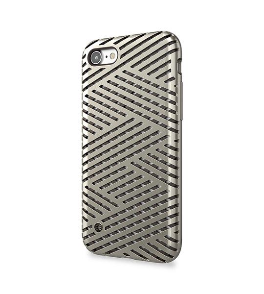Купить TPU+PC чехол STIL Kaiser || Series для Apple iPhone 7 (4.7 ) Золотой / Champagne gold