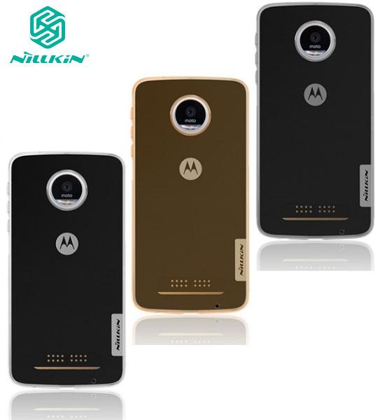 TPU чехол Nillkin Nature Series для Motorola Moto Z Play Бесцветный (прозрачный)  - купить со скидкой