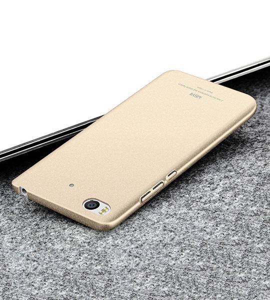 Купить Пластиковый чехол Msvii Quicksand series для Xiaomi Mi 5s Золотой
