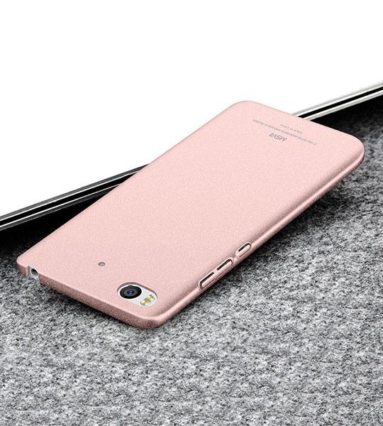 Пластиковый чехол Msvii Quicksand series для Xiaomi Mi 5s Розовый  - купить со скидкой