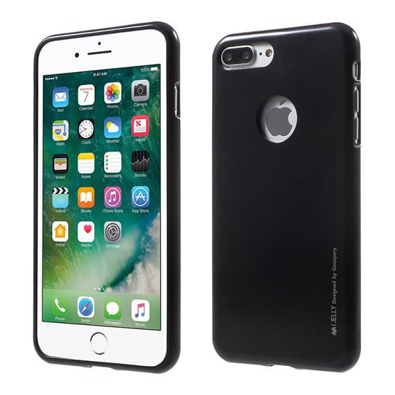 Купить TPU чехол Mercury iJelly Metal series для Apple iPhone 7 plus (5.5 ) Черный