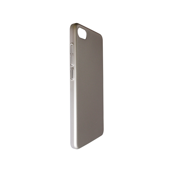 Купить Пластиковая накладка soft-touch с защитой торцов Joyroom для Meizu U10 Серебряный, epik