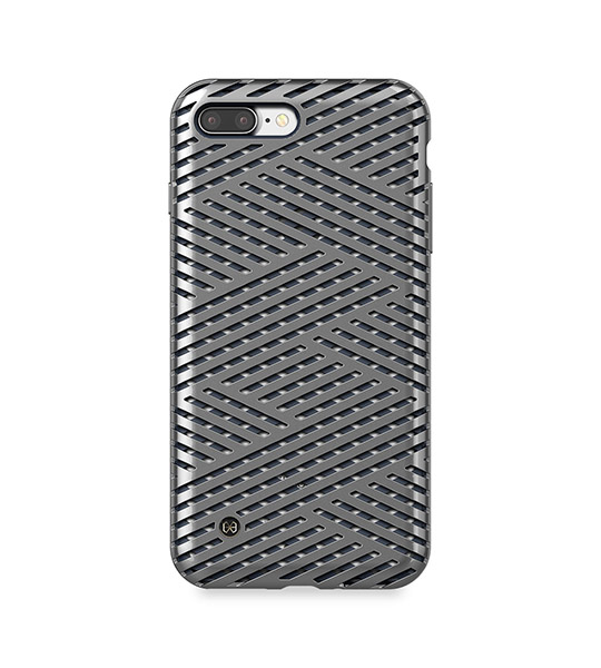 Купить TPU+PC чехол STIL Kaiser    Series для Apple iPhone 7 plus (5.5 ) Серый / Micro Titan