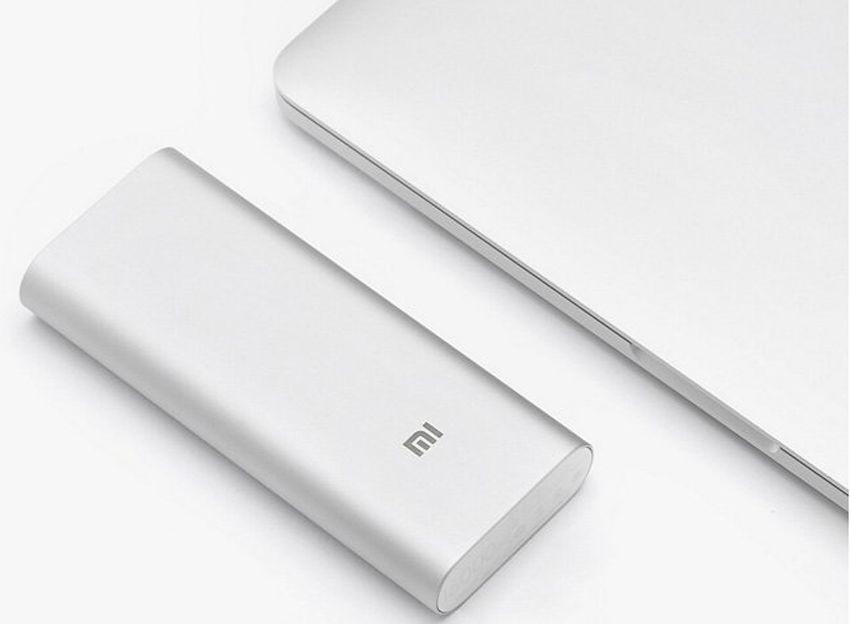 Дополнительный внешний аккумулятор Xiaomi Mi Power Bank 16000mAh Original (NDY-02-AL) (2 USB, 2.1A)