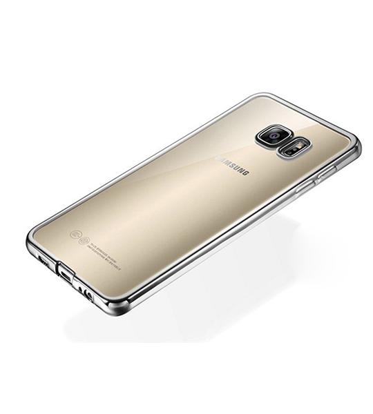 Купить TPU чехол с золотой каймой для Samsung G930F Galaxy S7 Золотой, epik