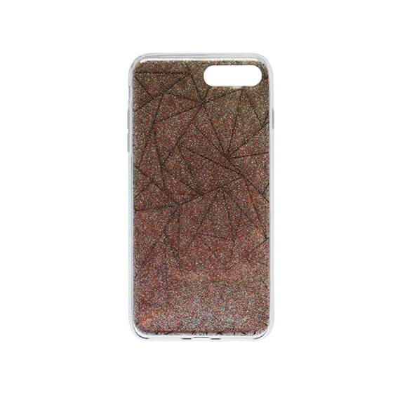 Купить TPU Чехол Волшебная геометрия для Apple iPhone 7 plus (5.5 ) Золотой, epik