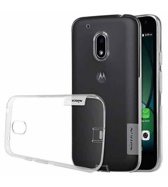 TPU чехол Nillkin Nature Series для Motorola Moto G4 Play Бесцветный (прозрачный)  - купить со скидкой