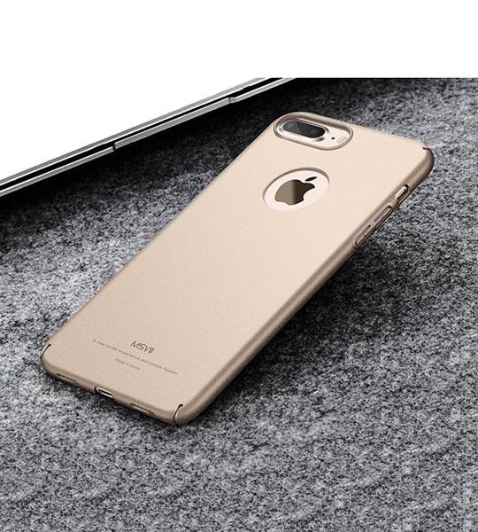 Купить Пластиковый чехол Msvii Quicksand series для Apple iPhone 7 plus (5.5 ) Золотой