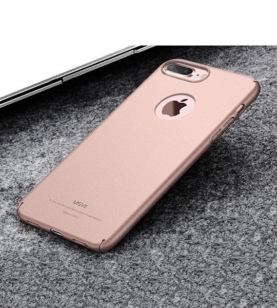 Пластиковый чехол Msvii Quicksand series для Apple iPhone 7 plus (5.5 ) Розовый  - купить со скидкой