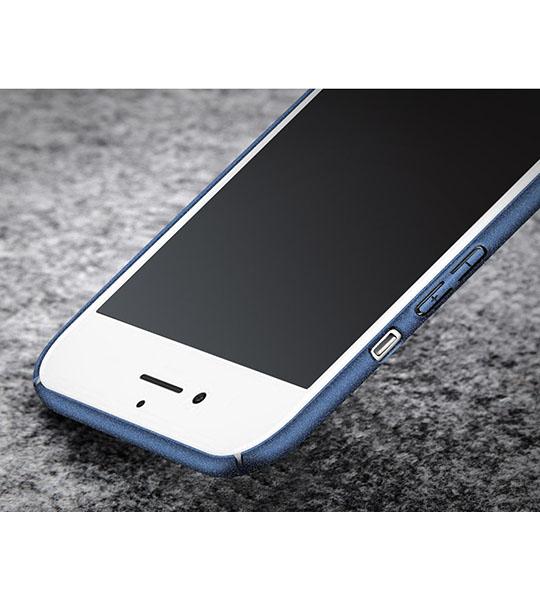 Купить Пластиковый чехол Msvii Quicksand series для Apple iPhone 7 plus (5.5 ) Синий
