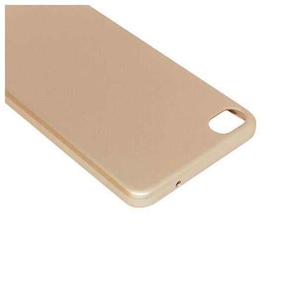 Купить Пластиковая накладка soft-touch с защитой торцов Joyroom для Meizu U20 Золотой, epik