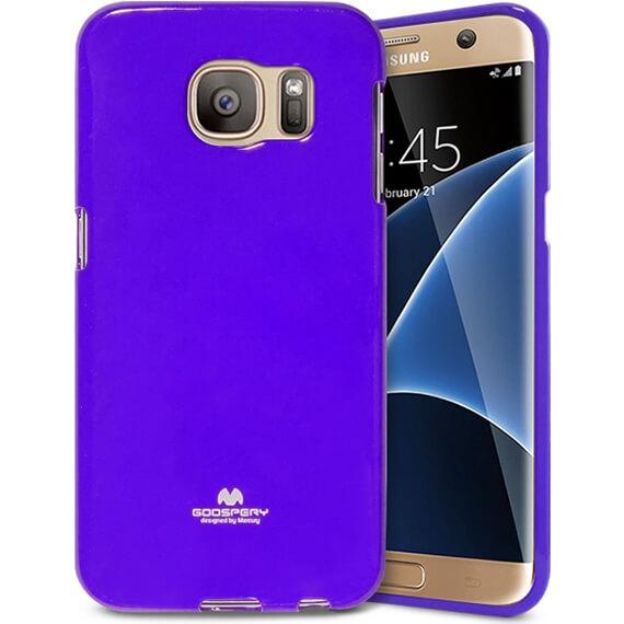 Купить TPU чехол Mercury Jelly Color series для Samsung G935F Galaxy S7 Edge Фиолетовый
