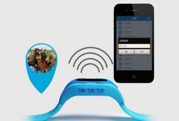 Купить Детские умные телефон-часы Baby Smart Watch с GPS геолокацией, Wi-Fi и прослушкой для безопасности Голубой, epik