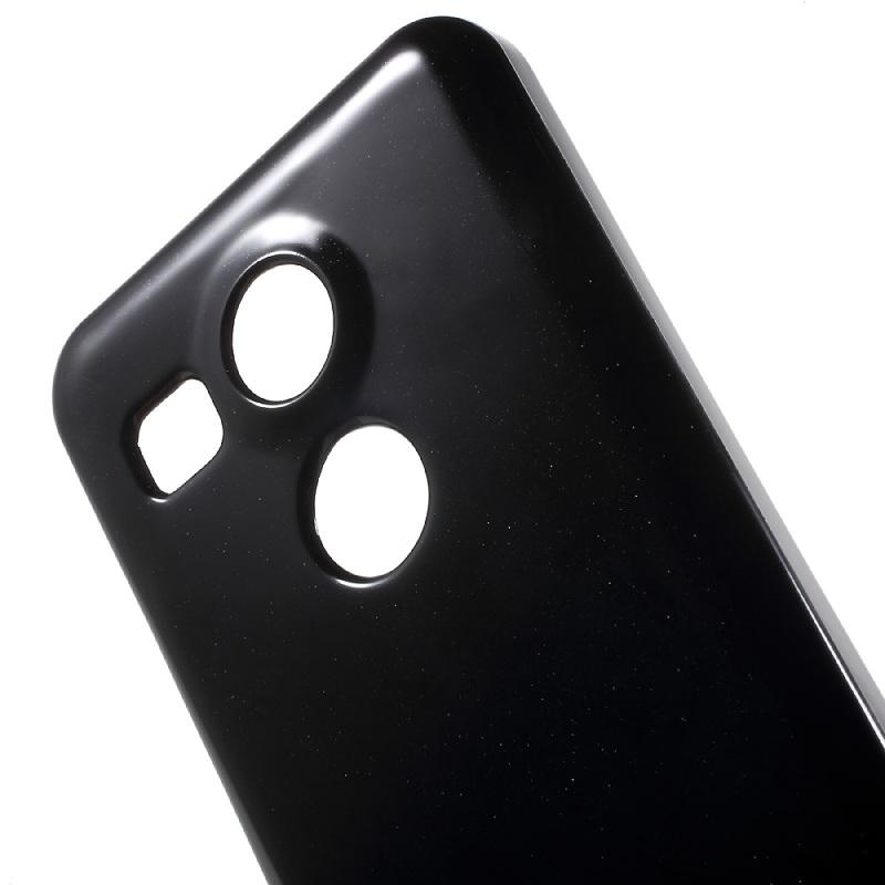 Купить TPU чехол Mercury Jelly Color series для LG Google Nexus 5x Черный